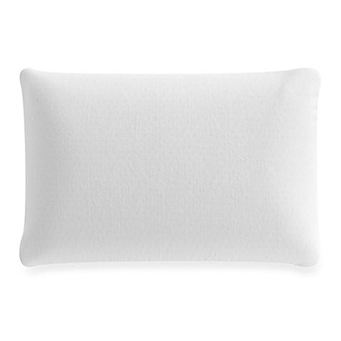 latex foam pillow in white