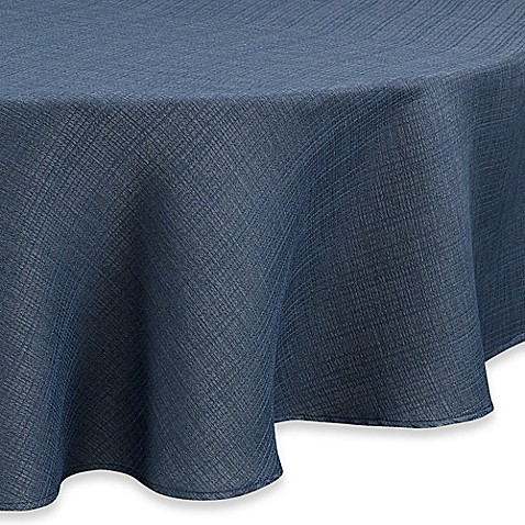 Buy Noritake 174 Colorwave 60 Inch Round Tablecloth In Blue