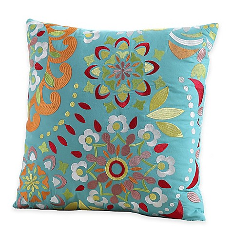 Fiesta 174 Zoe Square Throw Pillow Bed Bath Amp Beyond