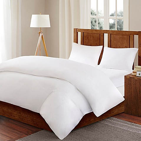Sleep Philosophy Bed Guardian 3M Scotchguard™ Full/Queen Comforter Protector in White