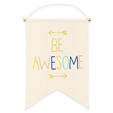 image of About Face Designs Be Awesome Wall Banner