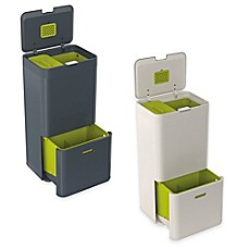 image of Joseph Joseph® IntelligentWaste® Totem 60 Liter Trash Separation & Recycling Unit
