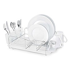 image of Polder® Advantage 3-Piece Stainless Steel Dish Rack