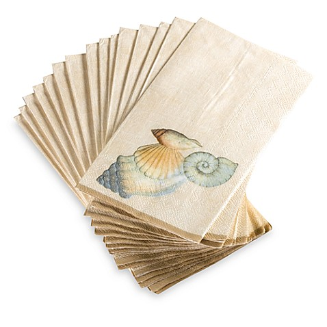 seychelles disposable buffet guest towels by croscill set
