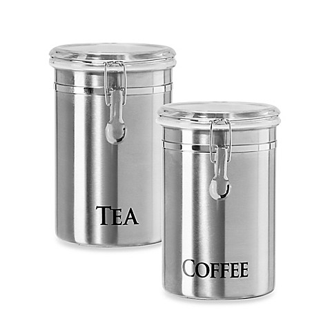 Oggi 60 Oz Stainless Steel Canister Bed Bath Beyond