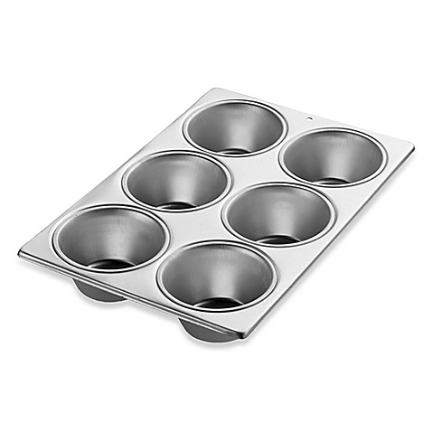 Wilton 174 Performance Aluminum 6 Cavity Jumbo Muffin Pan