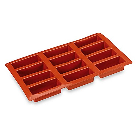 Paderno® Nonstick 12-Cavity Mini Rectangle Mold