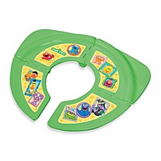 Image Of Ginsey Sesame Street Folding Travel Potty Seat