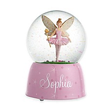 image of Ballerina Fairy Musical Water Globe