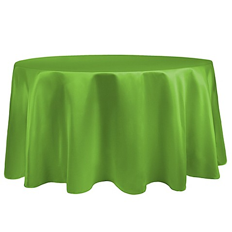 Buy Duchess 90 Inch Round Tablecloth In Apple From Bed