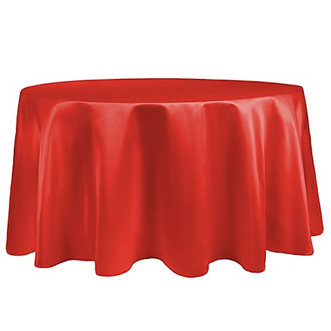Buy duchess 108 inch round tablecloth in orange from bed for 108 inch round table cloth