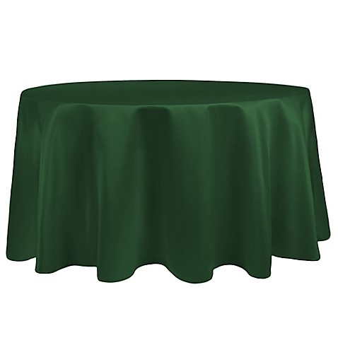 Buy Duchess 90 Inch Round Tablecloth In Hunter From Bed