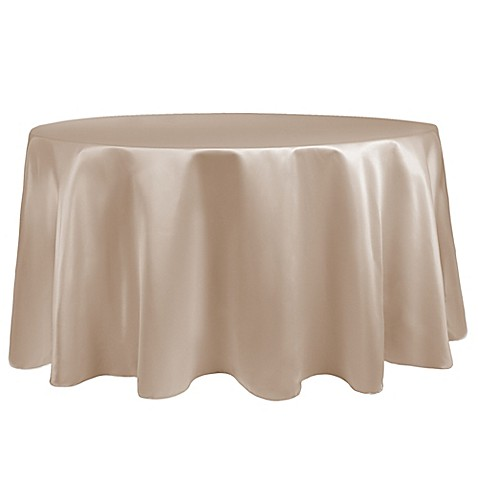 Buy duchess 108 inch round tablecloth in caf from bed for 108 inch round table cloth