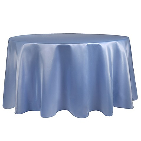 Buy duchess 108 inch round tablecloth in periwinkle from for 108 round table cloth