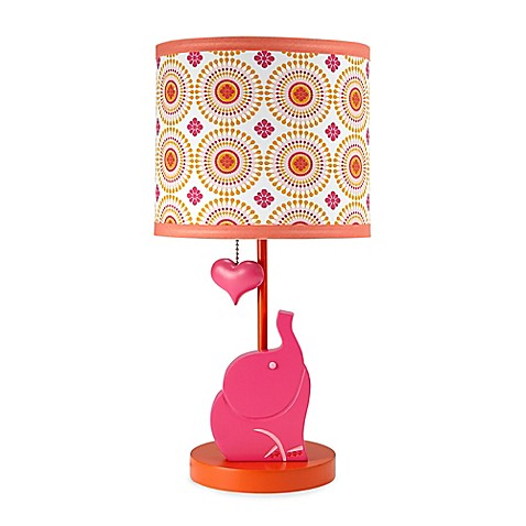 happy chic baby by jonathan adler party elephant lamp and shade bed bath beyond. Black Bedroom Furniture Sets. Home Design Ideas