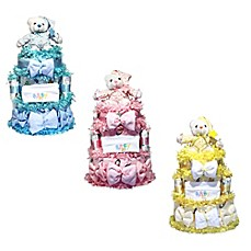 Baby shower favors unique baby shower gifts bed bath beyond image of silly phillie sweet diaper cake baby gift negle Gallery