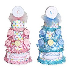 image of Silly Phillie™ Delicious Lollipop Diaper Cake Baby Gift