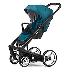 Mutsy Igo Stroller in Black/Aqua