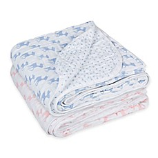 image of Lassig Lela Swaddle & Burp Cozy Blanket