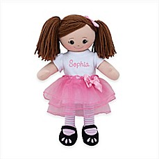 image of Brunette Doll with Tutu
