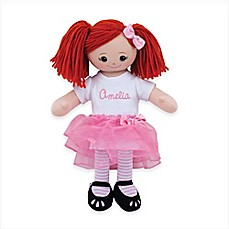 image of Red Head Doll with Tutu
