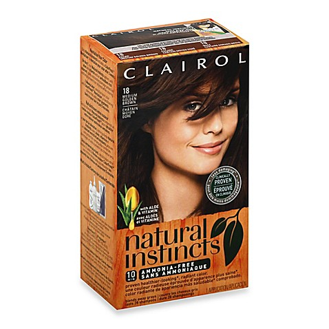 Clairol Natural Instincts Ammonia Free Semi Permanent Color In 18