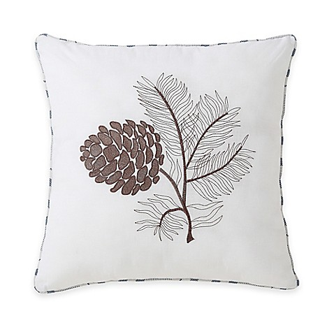 Throw Pillows Meaning : Victoria Classics Lodge Square Throw Pillow - Bed Bath & Beyond