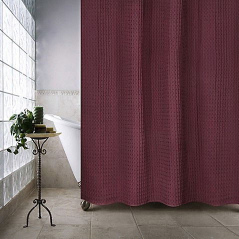 Buy escondido 72 inch x 96 inch shower curtain in burgundy for 100 beauty salon escondido