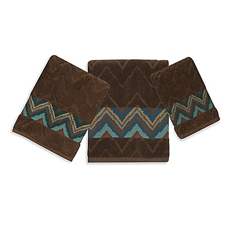 bacova sierra zig zag bath towel collection bed bath