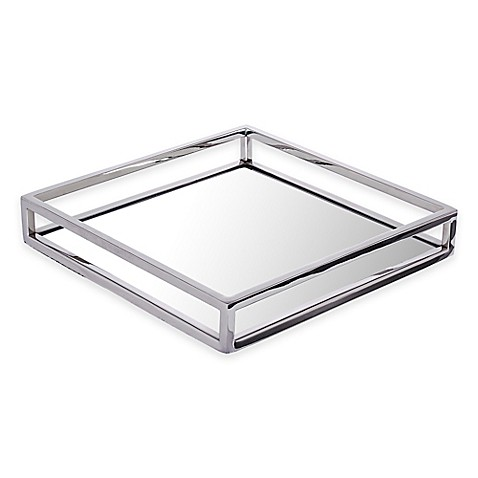 Classic Touch Mirrored Tray Bed Bath Amp Beyond