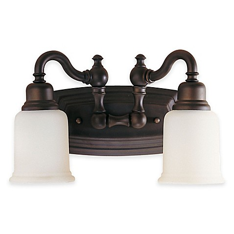 buy feiss 174 canterbury 2 light bath vanity fixture in 21066