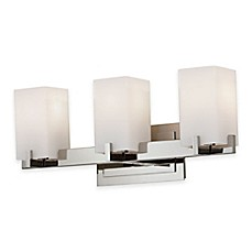image of Feiss® Riva 3-Light Vanity Fixture in Polished Nickel