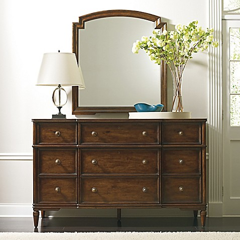 Stanley Furniture Vintage Bedroom Dresser In Brown Bed Bath Beyond