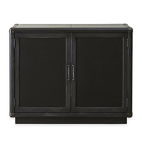 Pulaski Furniture Vintage Tempo Bar And Wine Cabinet In Charcoal Bed Bath Beyond