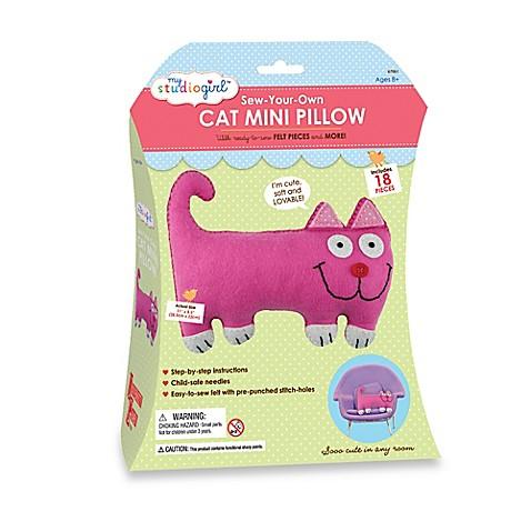 Cat Mini Pillow My Studio Girl