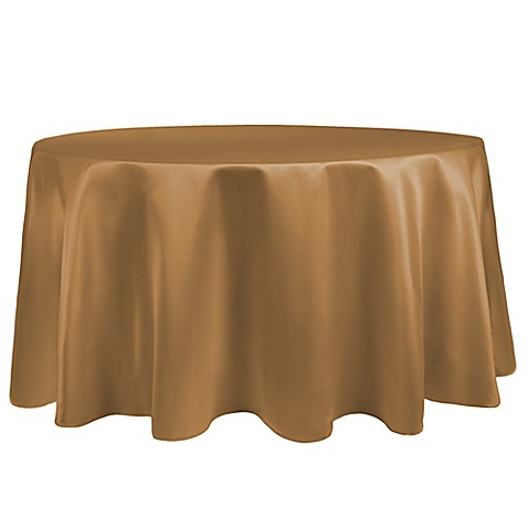 Buy duchess 120 inch round tablecloth in gold from bed for 120 inch round table linens