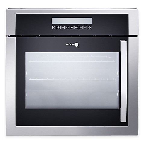 Buy fagor 24 inch left side opening built in convection for 24 inch built in microwave stainless steel