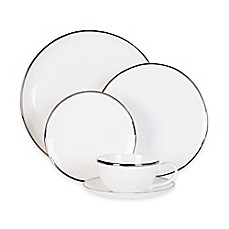 image of Olivia & Oliver Harper Organic Shape Platinum Dinnerware Collection