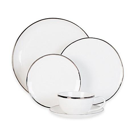 Olivia \u0026 Oliver Harper Organic Shape Platinum Dinnerware Collection  sc 1 st  Bed Bath \u0026 Beyond & Olivia \u0026 Oliver Harper Organic Shape Platinum Dinnerware Collection ...