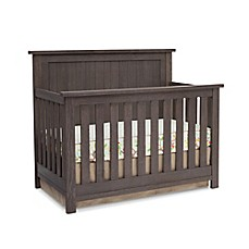image of Serta® Northbrook 4-in-1 Convertible Crib in Rustic Grey