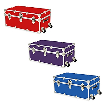Rhino Trunk And Case™ Large Rhino Armor Trunk With Removable Wheels