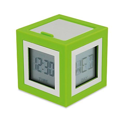 Lexon 174 Cubbisimo Cube Alarm Clock Bed Bath Amp Beyond