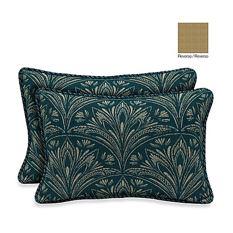 Buy Bombay 13-Inch x 20-Inch Royal Zanzibar Throw Pillow (Set of 2) from Bed Bath & Beyond