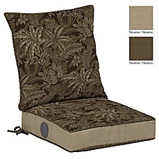 image of Bombay® Palmetto Outdoor Cushion Collection in Espresso