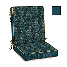 image of Bombay® Anatolia Blue Outdoor Cushion Collection