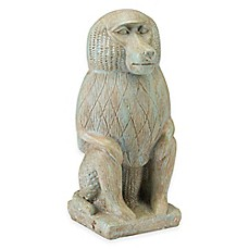 image of Bombay® Nubian Baboon Outdoor Statue