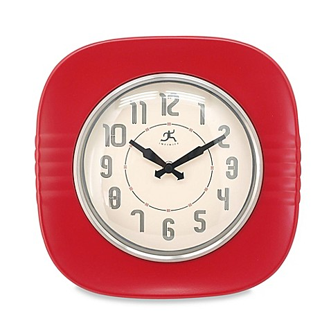 Buy Infinity Instruments 50s Style Diner Wall Clock In
