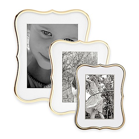 kate spade new york Crown Point™ Gold Picture Frames - Bed Bath & Beyond