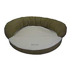 image of Orthopedic Bolster Pet Bed in Sage Green