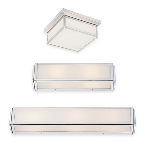 Minka lavery daventry bath lighting fixtures bed bath beyond for Minka bathroom light fixtures
